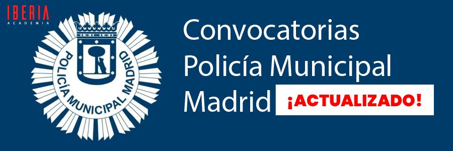 convocatoria policia municipal 2021