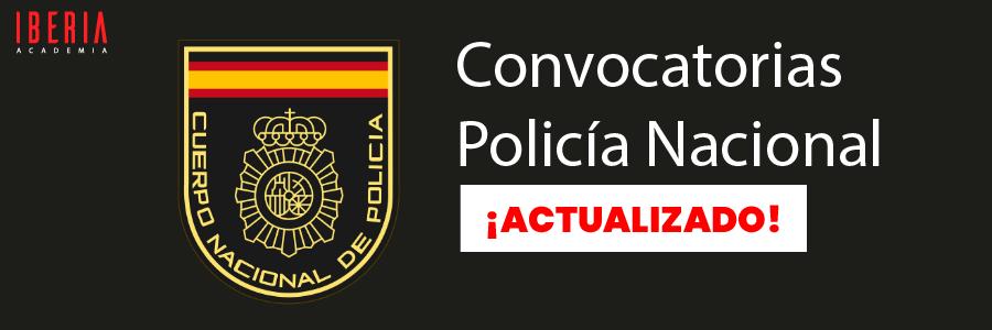 convocatoria policia nacional
