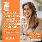 ampliadas plazas aux administrativo comunidad de madrid